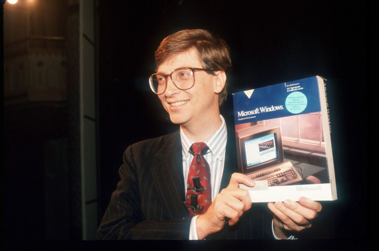 Windows microsoft bill gates