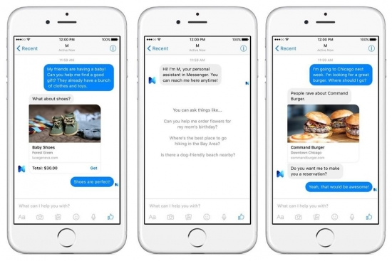 Facebook M Messenger