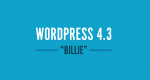 Wordpress 4 3